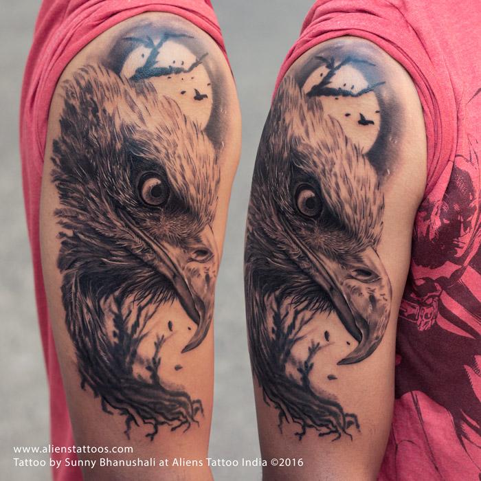 furious eagle tattoo